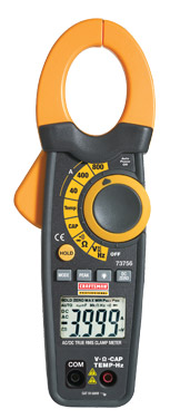 73756 - AC/DC Current Clamp Meter