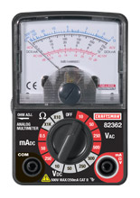 82362 - Compact Analog Multimeter